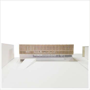 MODELLO ARCHITETTONICO – scala: 1:200