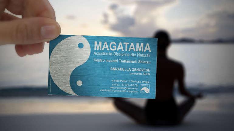 biglietto da visita Centro Magatama