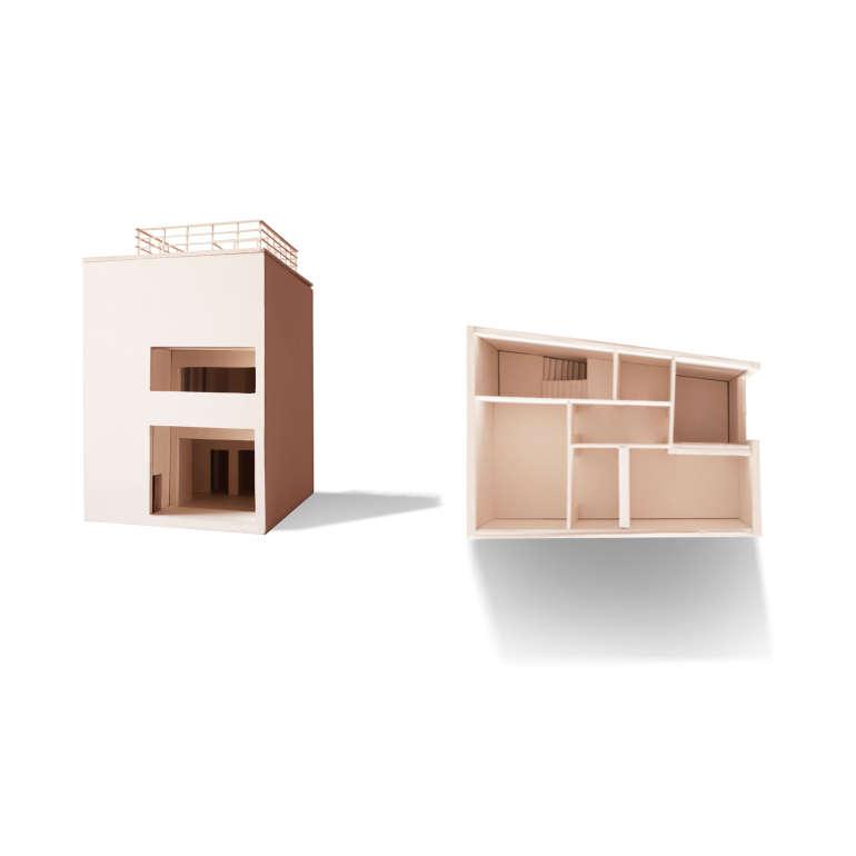 plastico architettonico in balsa