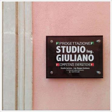Targa Ing. Giuliano