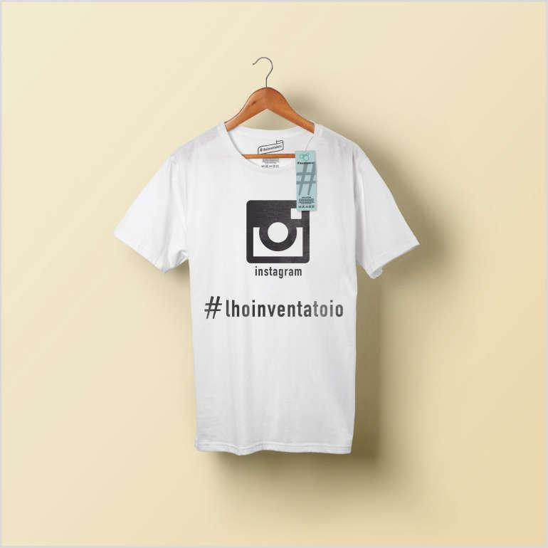 T-shirt l'hoinventatoio Instagram