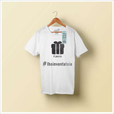 T-shirt l'hoinventatoio IlPacco