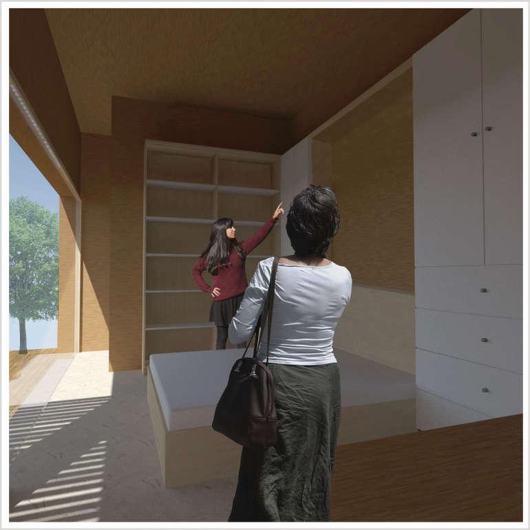 Rendering d'architettura d'interni