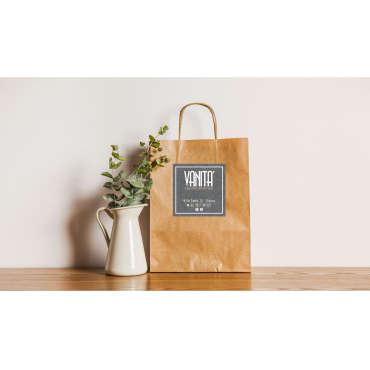 Shopping-bag per il Centro Estetico Vanità