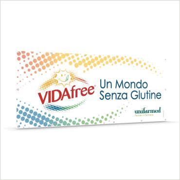 Banner in pvc per l'azienda VidaFree – Siracusa