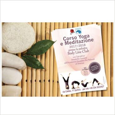 Campagna pubblicitaria Yoga BodyLineClub – Sortino
