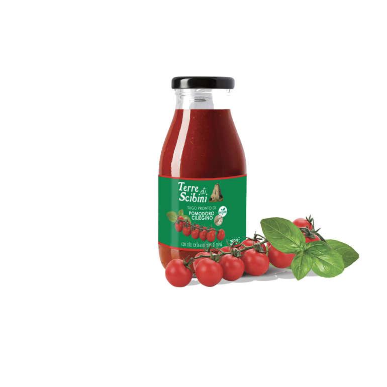 Terre di Scibini – Sugo pronto di pomodorino ciliegino Siciliano